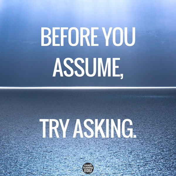 try asking